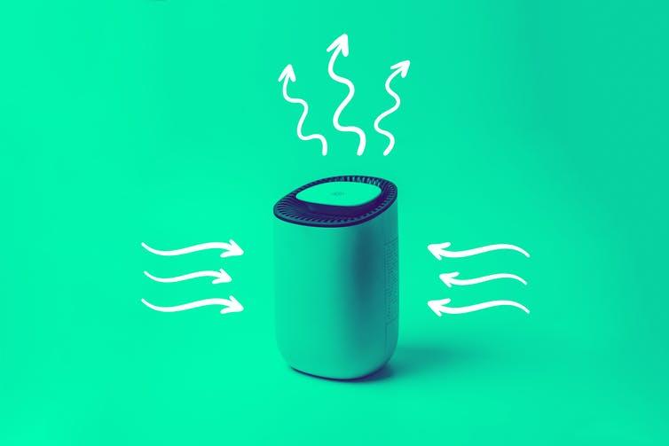 Os filtros de ar podem remover partículas ultrafinas que aumentam a pressão arterial. Fonte: Anass Bachar / EyeEm via Getty Images.